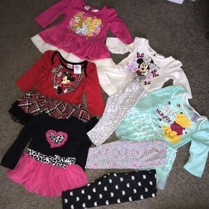 Baby Girls Size 12 Months Clothing Lot